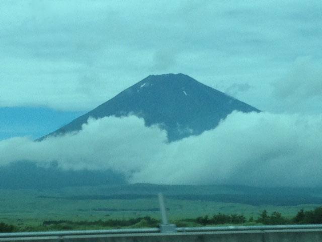 20120816あさ10時の富士山