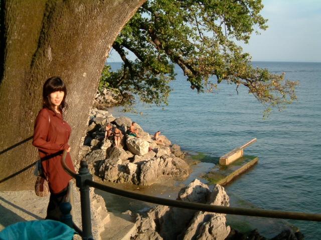 20040904クロアチアオパーティアの海岸01
