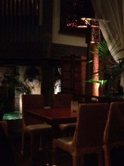 20120917安達朋博バリ料理21店内