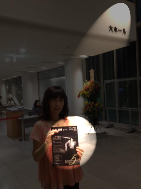20120913安達朋博杉並公会堂大ホール04スポットライト