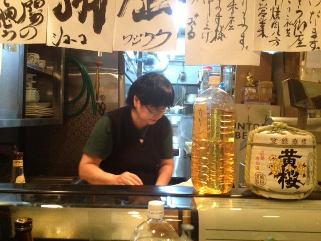20121130居酒屋ぶる閉店11ママ