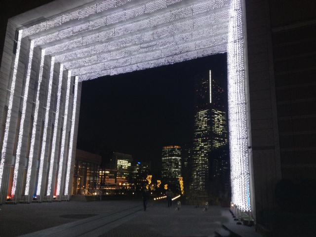 20111207横浜赤レンガ倉庫15近く