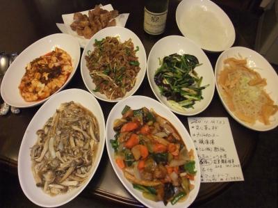 20111109水 晩御飯 小