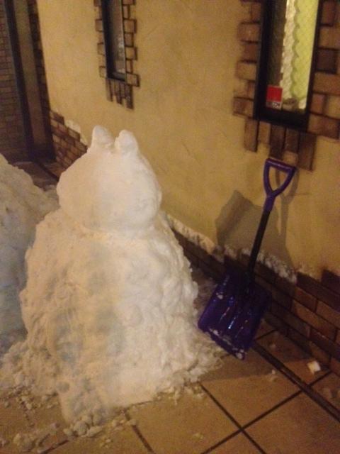 20140208しろいかばさん雪だるま02