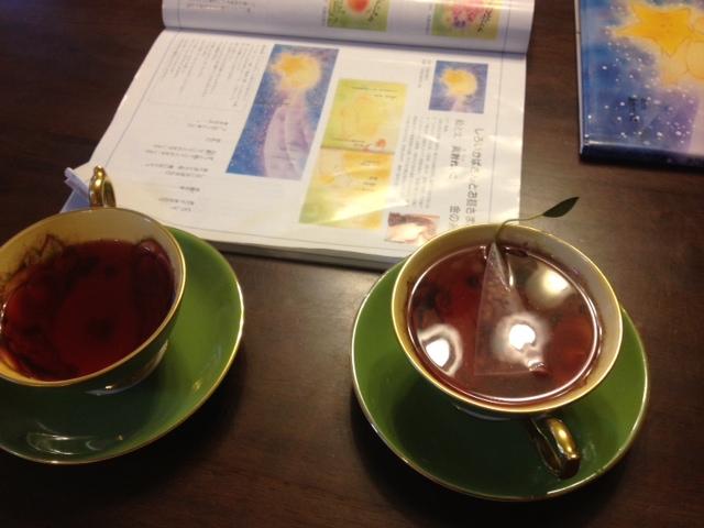 20140321葉っぱのついた紅茶10