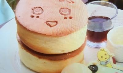 ヒャッハー!梨汁ぶしゃーパンケーキ