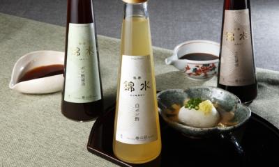 料亭錦水 「オリジナル調味料3本セット」 3,780円