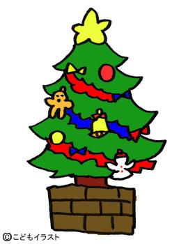 クリスマスイラスト素材ツリー