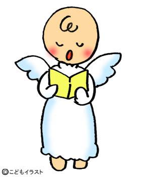 クリスマスイラスト素材天使