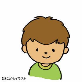 男の子顔イラスト