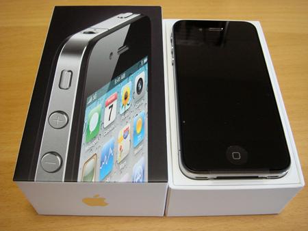 [iPhone4]開けました!!