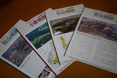 埼玉県内の城資料ごっそり