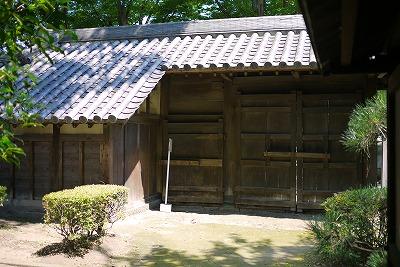 高崎城 三の丸東門