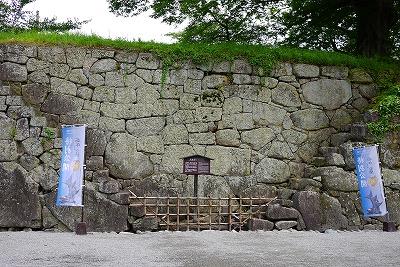 会津若松城(鶴ヶ城)武者走り