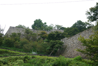 津山城 大戸櫓跡櫓台