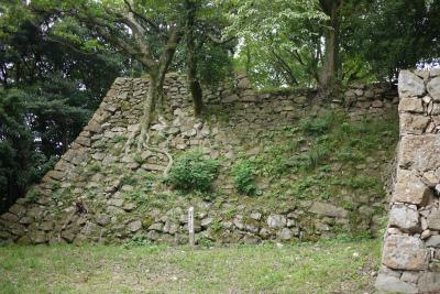 洲本城 南の丸隅櫓跡