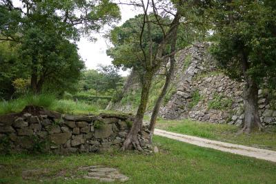 洲本城本丸南面石垣
