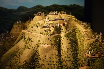 春日山城模型