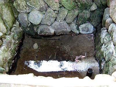 楠公さん産湯の井戸