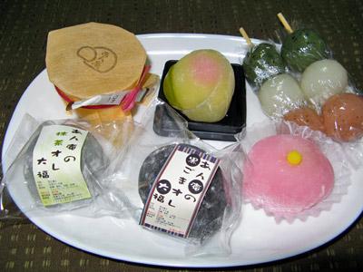 あん庵の和菓子