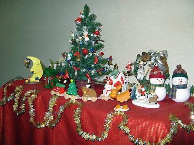 クリスマス飾り全体