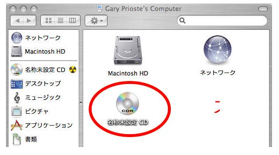 MAC ,CD-R