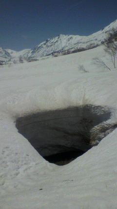 雪は3m以上