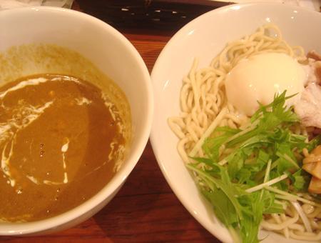カレー漬け麺