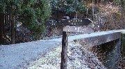 左が不動滝ルートの登山口