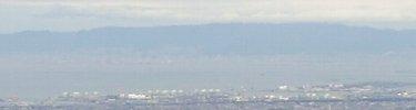 六甲連山(これも肉眼の方が…)