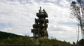 木製の展望台