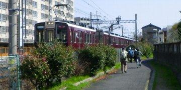 阪急の京都線です