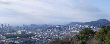 須磨方面の眺望