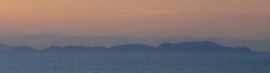 朝の友ヶ島