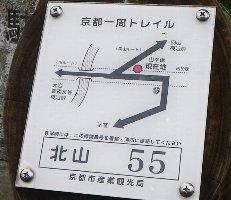 トレイルの標識