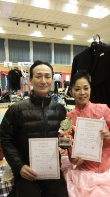 20160306 増山和彦・大東祐子組 優勝