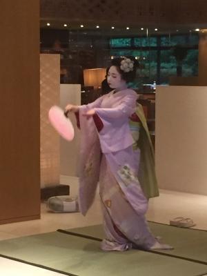ハイアットリージェンシー京都舞妓撮影許可あり