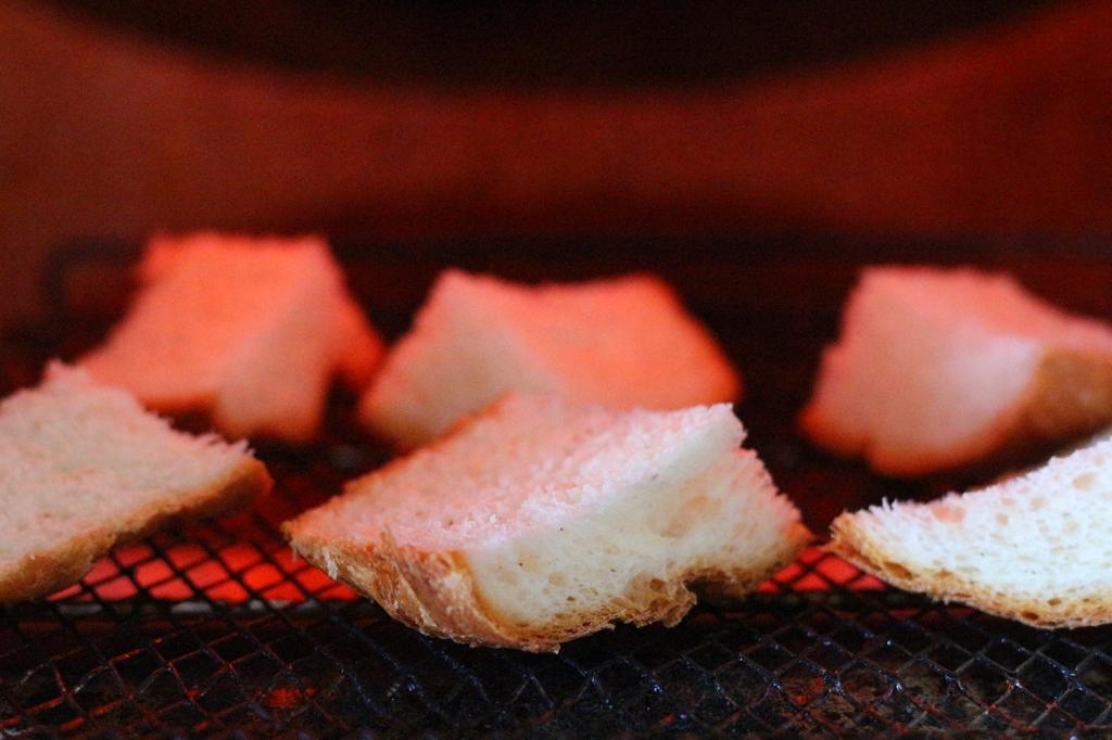 トーストのお味噌汁