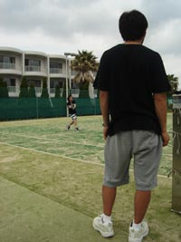 テニス楽しい〜〜〜
