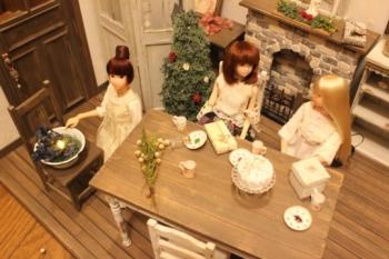1/6ドールハウス  momoko クリスマス