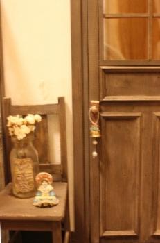 1/6ドールハウス ドア ブライス momoko クリスマス