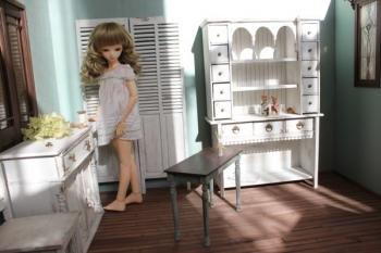 ドールハウス 家具 配置 TF MSD ティータイムジャスミン