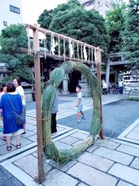 はるべ harube 梛神社 夏越祓い 水無月 粽 羅介さん 月鉾