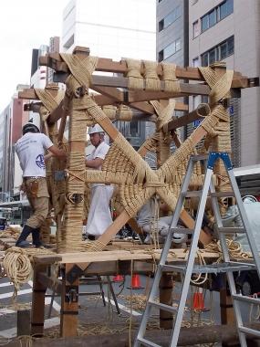 はるべ harube 祇園祭 鉾建て Dean & Deluca