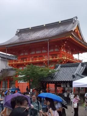 はるべ harube 八坂神社  祇園 エルメス