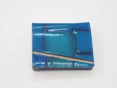 はるべ harube 財布 ターコイズ ブルー ピーコック
