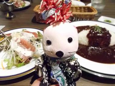 はるべ harube PLW ピアチェーレ 丸善カフェ ハヤシライス レモンケーキ