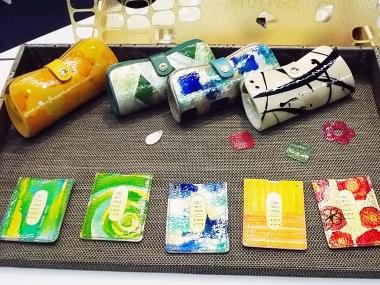 はるべ harube 東京展示会 たとかーふ クリスタル 財布 バッグ