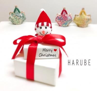 はるべ Harubeクリスマス ピッグエナメル