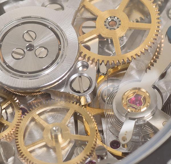 時計の心臓部